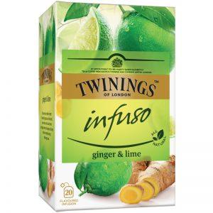"""Örtte """"Ginger & Lime"""" 20 x 1,5g - 32% rabatt"""