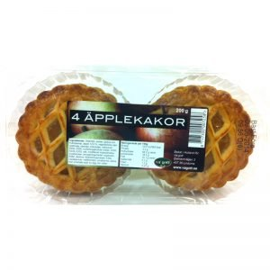 4 Äpplekakor - 33% rabatt