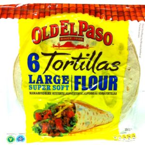 6 Tortillas Large Soft - 66% rabatt