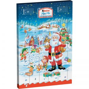 "Adventskalender ""Kinder Mini Mix"" 152g - 83% rabatt"
