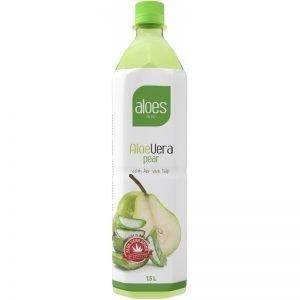 """Aloe Vera-dryck """"Pear"""" 1,5l - 40% rabatt"""