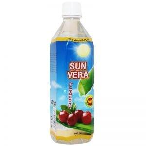 Aloe Vera-dryck Tranbär 500ml - 50% rabatt