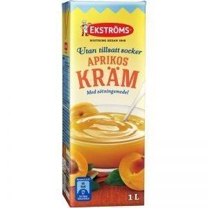 "Aprikoskräm ""Extra Prima"" 1l - 44% rabatt"