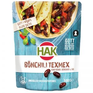 "Bönchili ""Tex Mex"" 500g - 27% rabatt"