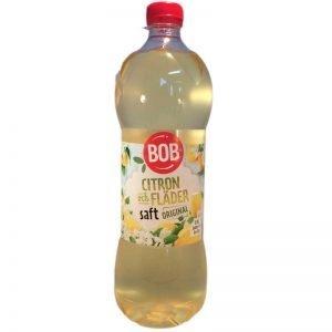 BOB Saft Citron, fläder - 50% rabatt