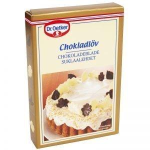 Bakdekoration Chokladlöv 45g - 66% rabatt