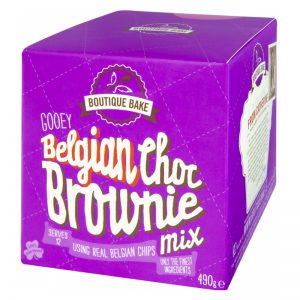 "Bakmix ""Chocolate Brownie"" 490g - 74% rabatt"