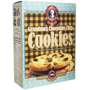 "Bakmix ""Chocolate Chip Cookies"" 300g - 60% rabatt"
