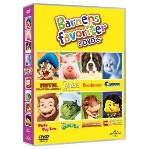 Barnens Favoriter 8 Filmer - 35% rabatt