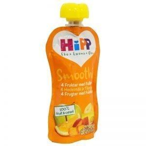 Barnmat Smoothie 4 Frukter Med Fullkorn - 20% rabatt