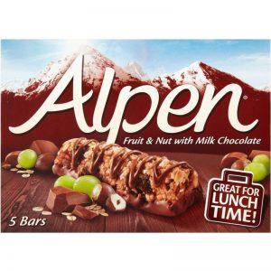 "Bars ""Fruit, Nut & Milk Chocolate"" 145g - 56% rabatt"