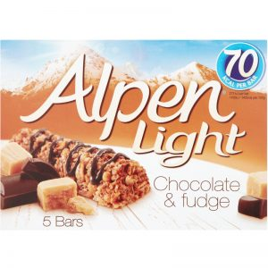 """Bars """"Fudge & Chocolate"""" 95g - 34% rabatt"""