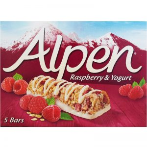 "Bars ""Raspberry & Yogurt"" 145g - 34% rabatt"