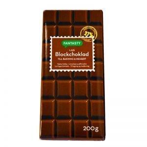 Blockchoklad Ljus - 25% rabatt