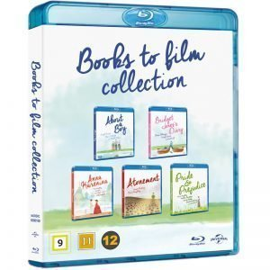 Books To Film Blu-Ray - 18% rabatt
