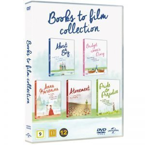 Books To Film Collection DVD - 18% rabatt