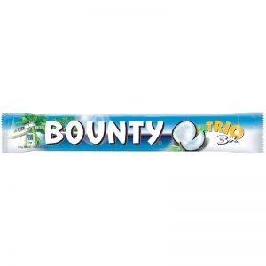 "Bounty ""Trio"" 85g - 18% rabatt"