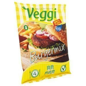 """Burgarmix """"Spicy Veggi"""" 180g - 35% rabatt"""