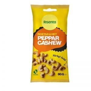 Cashewnötter Peppar 60g - 34% rabatt