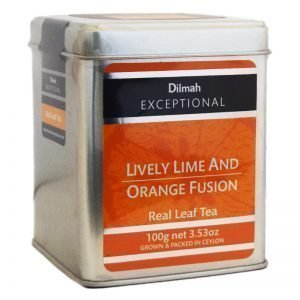 "Ceylonte ""Lively Lime & Orange Fusion"" 100g - 64% rabatt"