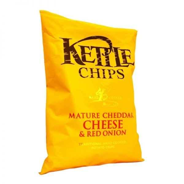 Chips Cheddar cheese & red onion - 60% rabatt