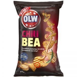 Chips Chili Bea 275g - 28% rabatt