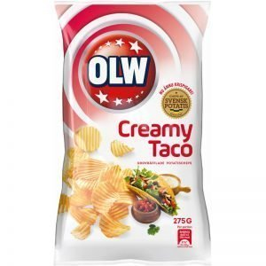 "Chips ""Cool Creamy Taco"" 275g - 77% rabatt"