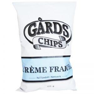 """Chips """"Creme Fraiche"""" 225g - 50% rabatt"""