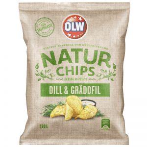 Chips Dill & Gräddfil 180g - 32% rabatt
