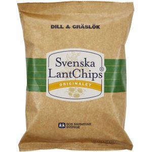 Chips Dill & Gräslök 200g - 25% rabatt