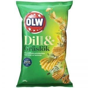 Chips Dill & Gräslök 275g - 50% rabatt