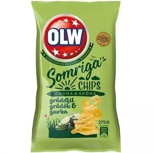 Chips Gräddfil, Gurka & Gräslök - 50% rabatt