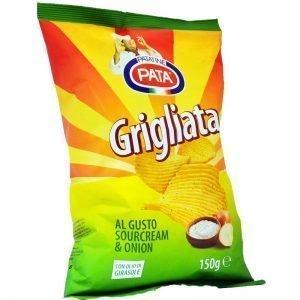Chips Gräddfil & Lök Glutenfria 150g - 44% rabatt