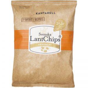 Chips Kantarell 200g - 50% rabatt