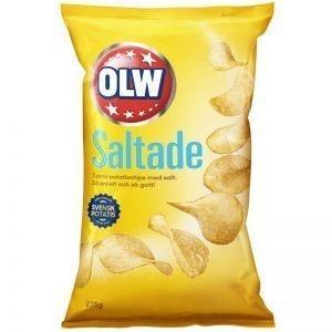 Chips Lättsaltade 275g - 25% rabatt
