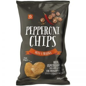 Chips Pepperoni 200g - 72% rabatt