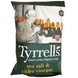 """Chips """"Sea Salt & Cider Vinegar"""" 40g - 50% rabatt"""