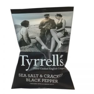 Chips Sea Salt & Cracked Black Pepper - 80% rabatt