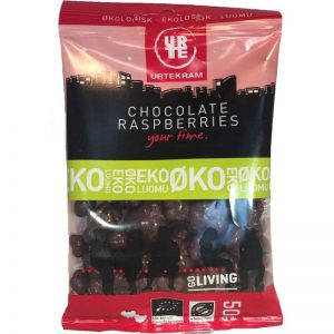 Chocolate raspberries eko 50 g - 34% rabatt