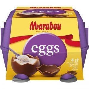 Chokladägg Mjölkkräm 4 x 34g - 69% rabatt