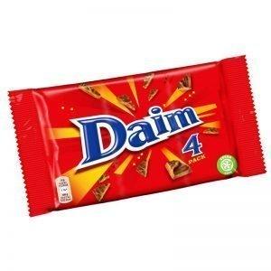"""Choklad """"Daim"""" 4 x 28g - 37% rabatt"""