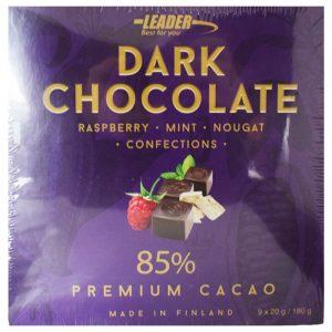 "Choklad ""Dark Confections"" 180g - 59% rabatt"