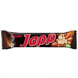 """Choklad """"Japp - All Nuts"""" 60g - 33% rabatt"""
