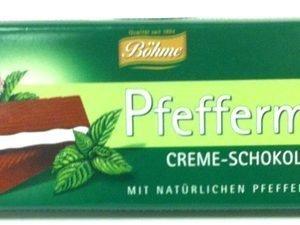 Choklad med pepparmintskräm - 60% rabatt