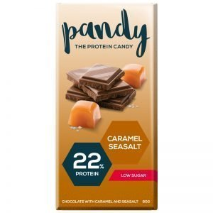 "Chokladkaka ""Caramel Seasalt"" 80g - 40% rabatt"