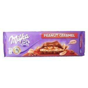 """Chokladkaka """"Peanut Caramel"""" 300g - 44% rabatt"""
