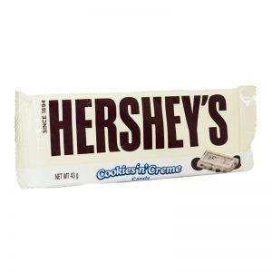Chokladkaka Vit Choklad & Kakbitar 43 g - 74% rabatt