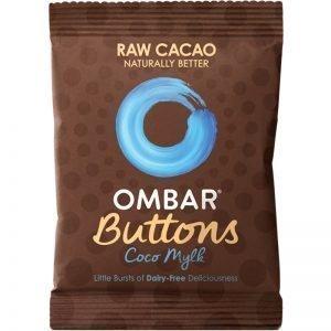 """Chokladknappar """"Raw"""" 25g - 56% rabatt"""