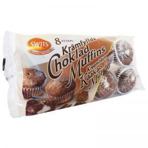 Chokladmuffins Krämfyllda 8-pack 240g - 74% rabatt