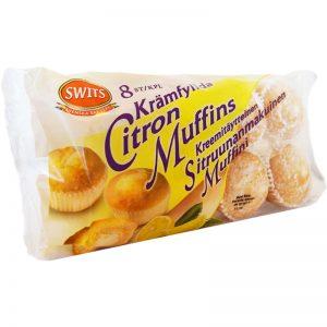 Citronmuffins Krämfyllda 8-pack 280g - 74% rabatt